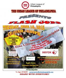 Flash job flyer